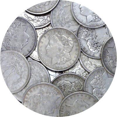 1921 P/D/S $1 Morgan Silver Dollar 1 Coin VG Or Better Random Mixed Mint Marks