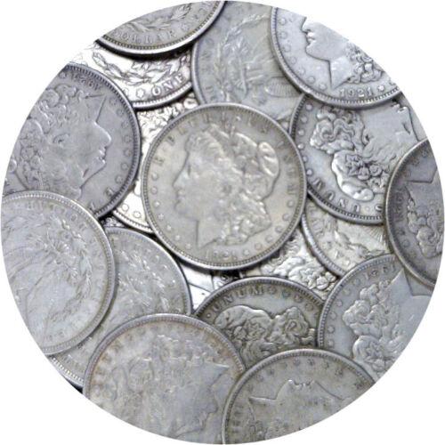 1921 P/D/S $1 Morgan Silver Dollar 1 Coin Average Circulated Mixed Mint Marks