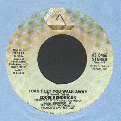Eddie Kendricks - I Can't Let You Walk Away -  7