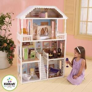 NEW KIDKRAFT SAVANNAH DOLLHOUSE KIDS - TOYS 108846602