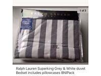 Ralph Lauren duvet & pillow case