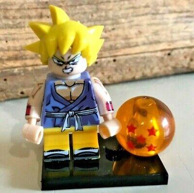 TYPE MINI FIGURINE LEGO BEBE GOKU DRAGON BALL Z DBZ