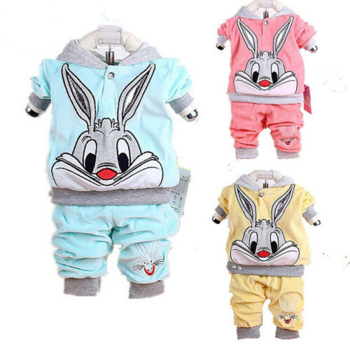 NEW-baby-outerwear-long-Pants-set-suit-boys-girls-clothing-rabbit-YF101