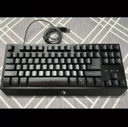 NPET G20 Compact Gaming Keyboard, 87 Keys Backlit Mechanical Feeling Computer - $14.40