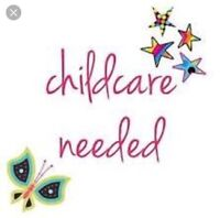 Childcare wanted