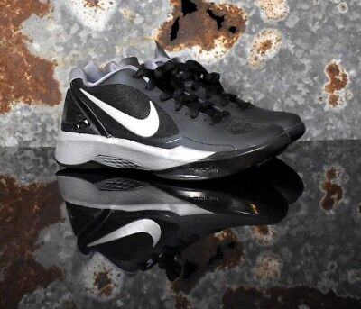 🔥Nike Volley Zoom Hyperspike Volleyball Black Silver 585763-001 Womens Multi