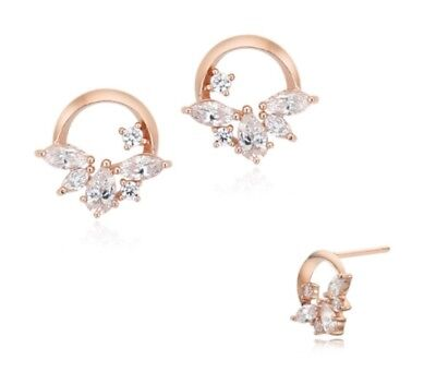 StoneHenge Silver Earrings SC0974 Silver 925 Rose Gold Cubic Zirconia Korea Jewe