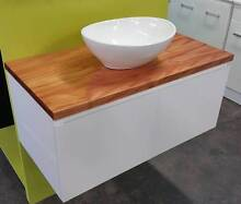 Australian Solid Timber Top 900 Vanity Unit Hectorville Campbelltown Area Preview