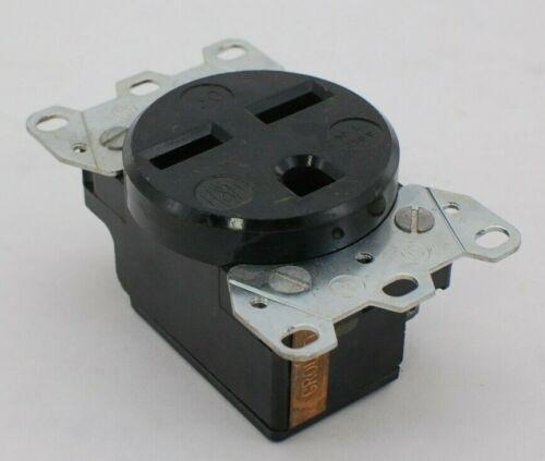 H&H NEMA 6-30 Black Power Outlet