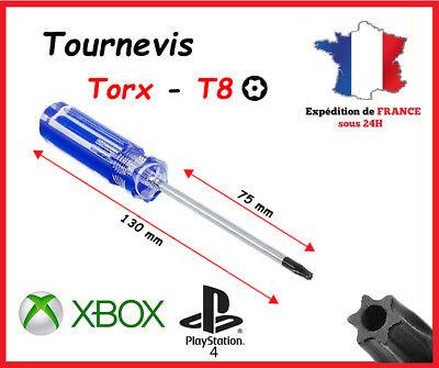 Tournevis Torx T8 Réparation console manette Microsoft Xbox 360 - PS4 PS3...