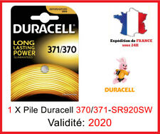 1 X Pile  DURACELL 371/370-SR920SW-AG6 - Montre / Oxyde d