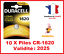 Lot-de-1-a-10-Pile-CR-1620-DL-1620-DURACELL-bouton-Lithium-3V-DLC-2025