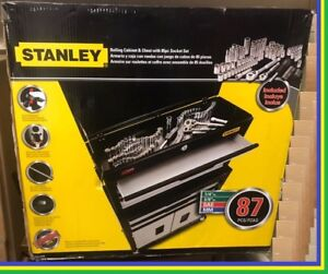 Coffre STANLEY Rolling Cabinet with 87/pcs