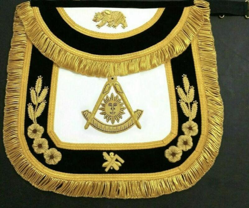 Masonic Past Master The California Apron