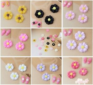 50-Pcs-Beautiful-Charming-3D-Resin-Flowers-Of-Nail-Art-DIY-Decoration