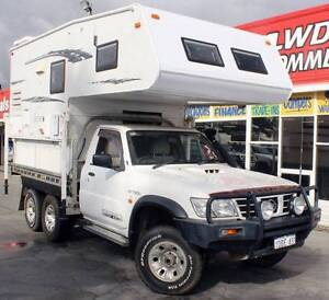 2006 NISSAN PATROL ST GU 4.2L 6CYL TURBO DIESEL CAMPER Cannington Canning Area Preview