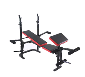 Adjustable Weight Bench Home Gym Training Exercise Weight Lifting Fold