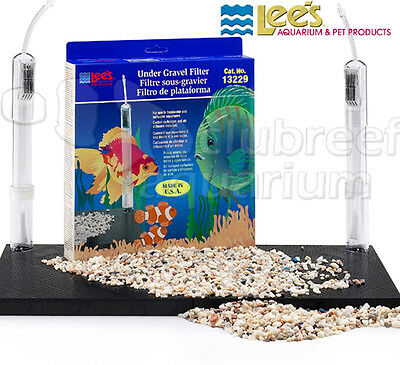 Lees Undergravel Filter - Under-Gravel Aquarium Filter Lee's Original UGF 20L/29/37 Gallon 30