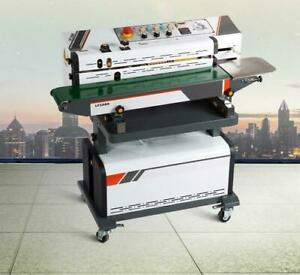 Continuous Vacuum Packing And Bag Sealing Machine 110v 181016