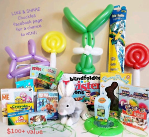 Easter Giveaway Contest** see CHUCKLES FACEBOOK PAGE