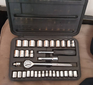 34 Piece Socket Set
