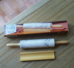 BRAND NEW MARBLE ROLLING PIN Cambridge Kitchener Area image 1