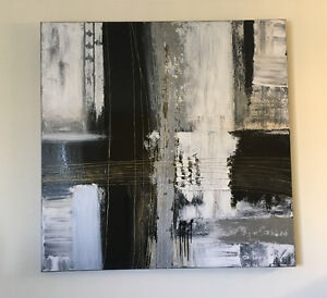 """Abstract wall painting 48""""x48"""""""