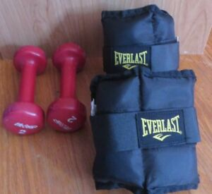 Wrist and leg weights