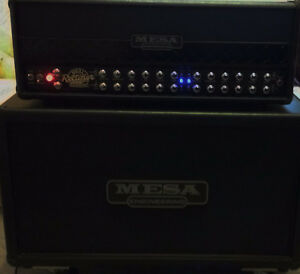 "10/10  Mesa Roadster Head and 2x12"" V30s Mesa Horizontal Cabinet Kitchener / Waterloo Kitchener Area image 2"