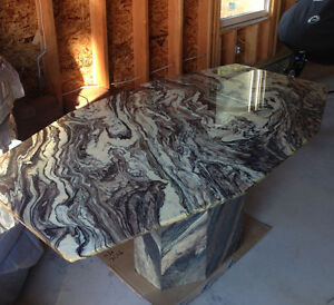 Marble Dining Table Peterborough Peterborough Area image 1
