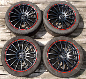 Dai Alloys Rims and Tires