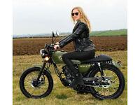 WK Bikes NM 125cc Naked Retro. Learner Legal