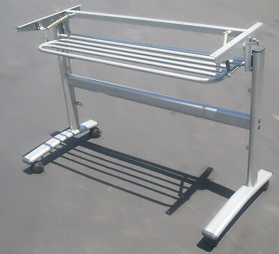 Mobile Folding Table Rack w/shelf For Commercial/Home/Hotel/School Training Desk