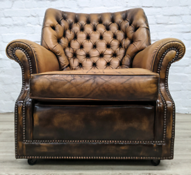 Chesterfield Armchair (DELIVERY AVAILABLE)