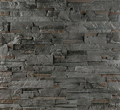 Wand Verblender Steinoptik, Wandverkleidung - Sierra Gray  - 1 Musterstück