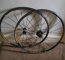 For sale is a Mavic Aksium Race wheelset.