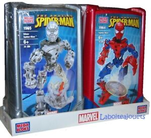 MEGA BLOKS THE AMAZING SPIDER-MAN #1964 & #1965 NEUF