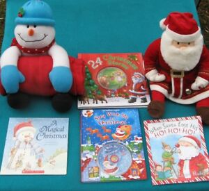 Christmas Books with Stuffies for Primary /Jr Readers