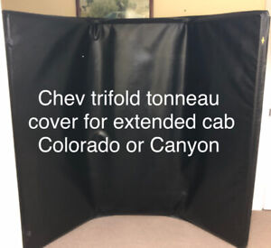 Tonneau Cover  5'Wx6'L for Ext Cab Chev  Colorado or GMC Canyon