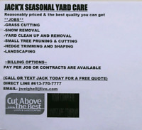 JACK'X SNOW REMOVAL - Reasonably priced snow clearing