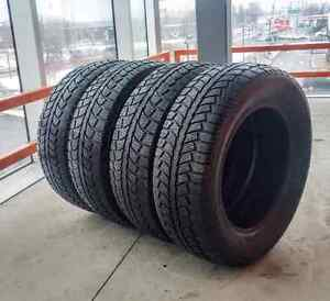 Set of four 225/65/17  Uniroyal tiger paw winter tires