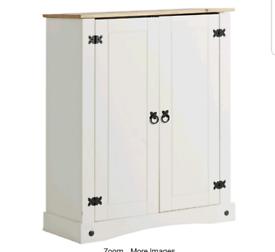 Brand new wood shoe storage cabinet