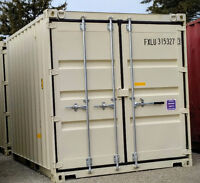 10ft sea container for paint chemical and tool storage