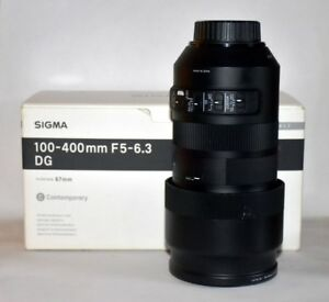 "SIGMA 100-400mm F5-6.3 DG ""Contemporary"" Nikon Mount"