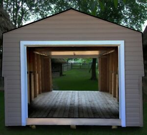 Deluxe Snowmobile/ATV Shed
