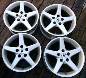 16 inch silver Acura RSX OEM Rims