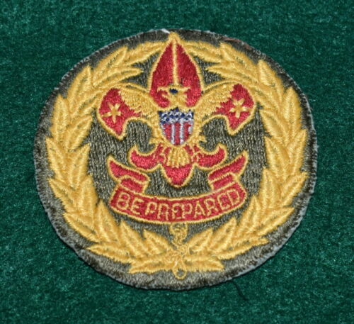 BOY SCOUT ADULT POSITION PATCH - COMMISSIONER - CUT EDGE