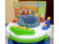 Leapfrog move and groove station