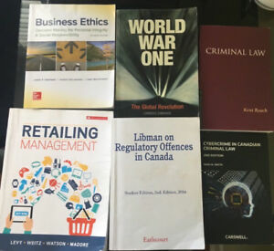 Ryerson Textbooks for SALE