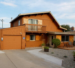 Osoyoos B.C., Rustic and Funky House